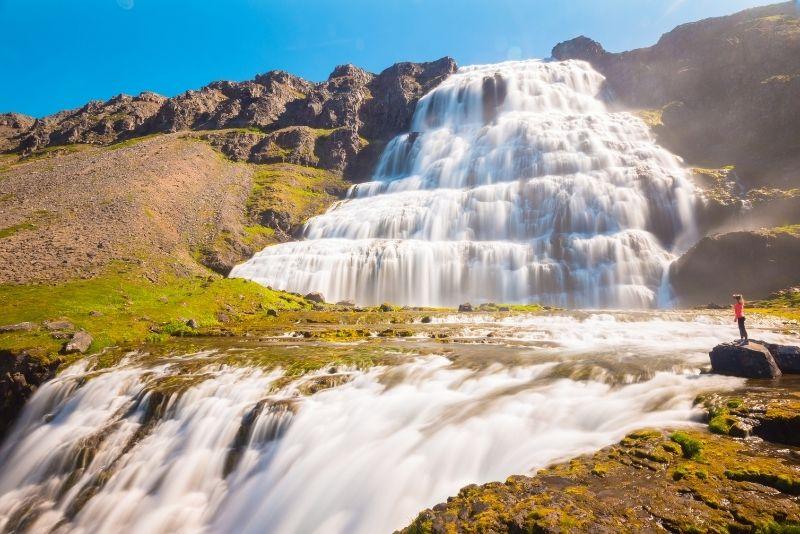 Dynjandi-Wasserfall in Island