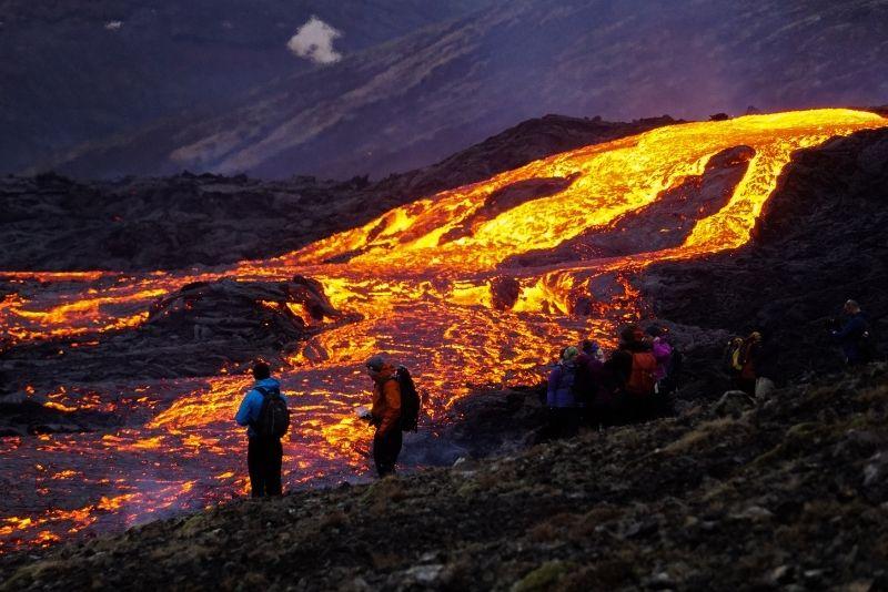 Eruzione del vulcano Fagradalsfjall, Islanda