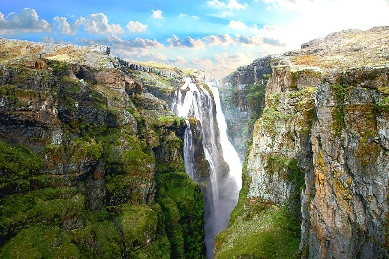 Tagesausflug zum Wasserfall Glymur, Island