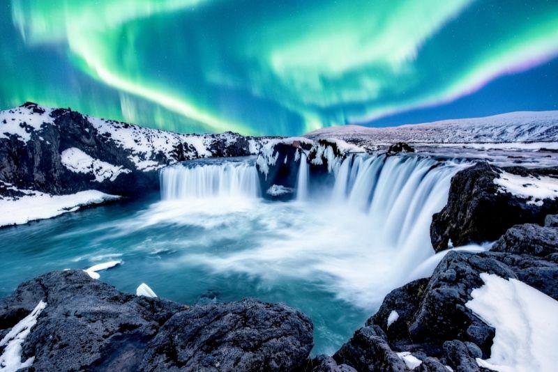 Godafoss Wasserfall, Island