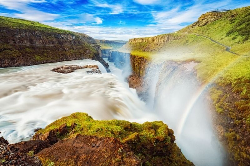 Cascate Gullfoss, Islanda