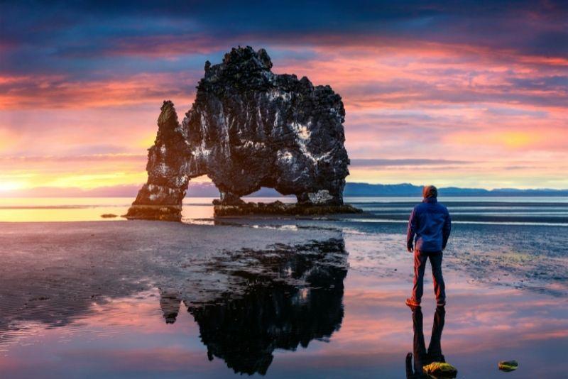 Hvítserkur in Island