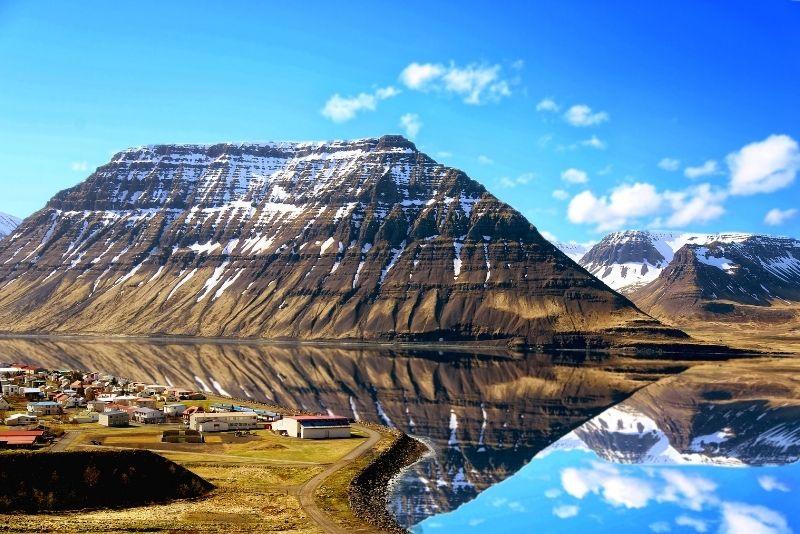 Isafjördur in Westfjorden, Island