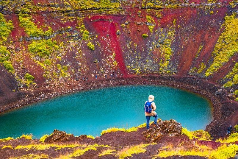 Kerid Crater, Islanda