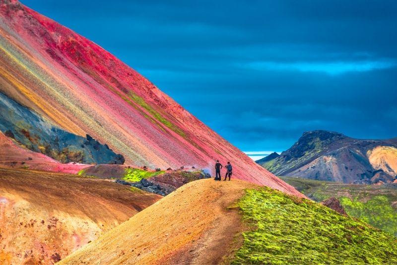 Bergtouren Landmannalaugar, Island