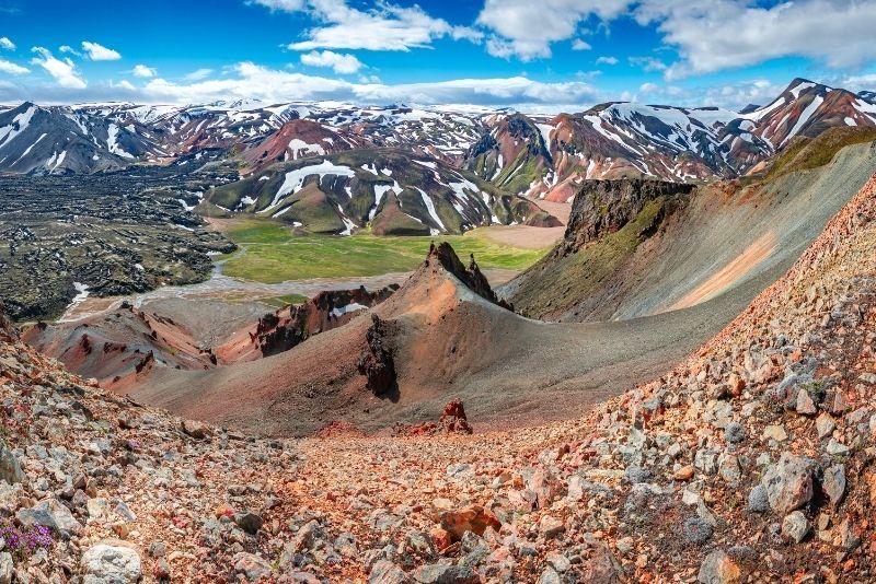Sentiero Laugavegur in Islanda