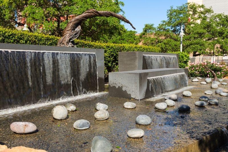 Lauren's Garden in Market Square Park, Houston