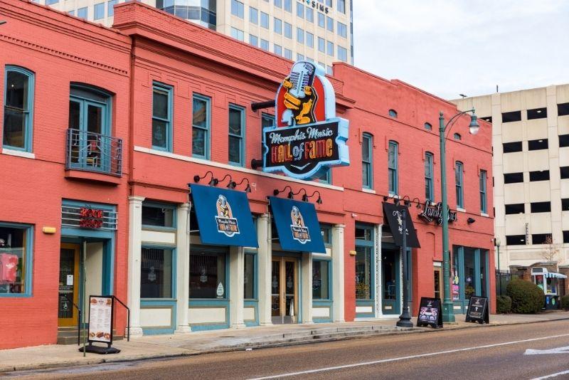 Memphis Music Hall of Fame, Memphis