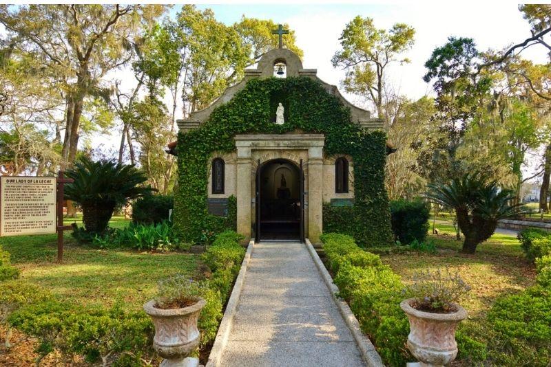 National Shrine of Our Lady of La Leche at Mission Nombre de Dios, St. Augustine