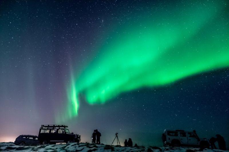 Tour dell'aurora boreale, Islanda