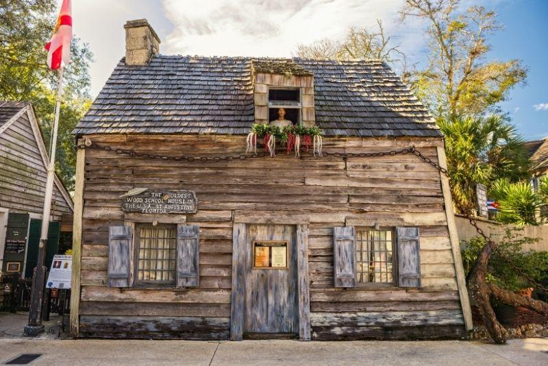 Oldest Wooden School House, St Augustine