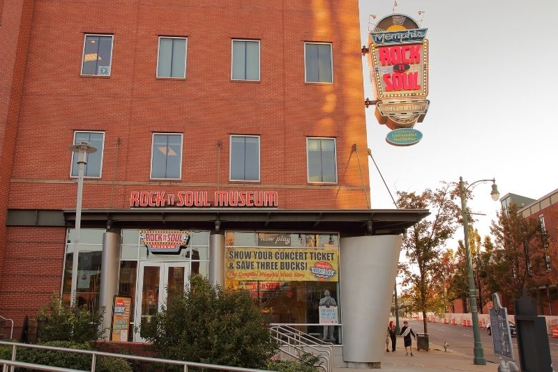 Rock 'n' Soul Museum, Memphis