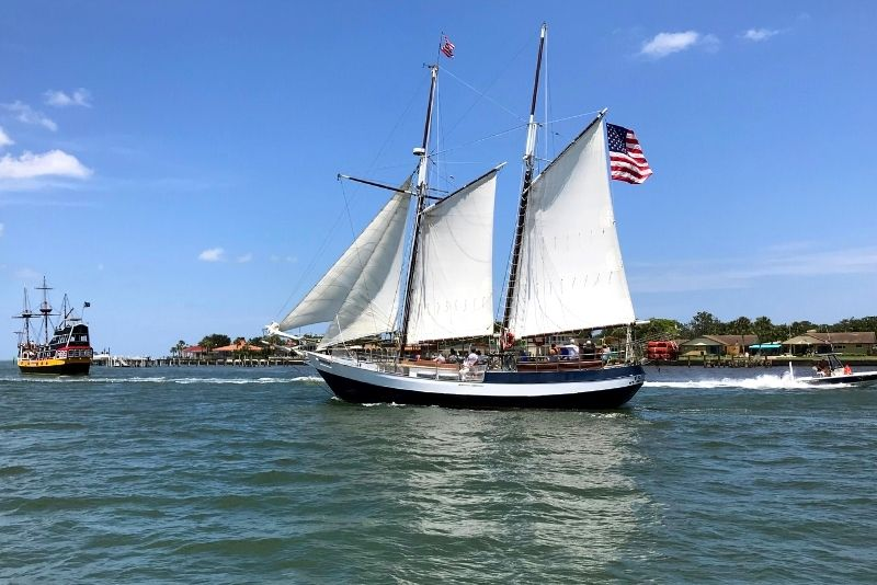 Schooner Freedom in St Augustine