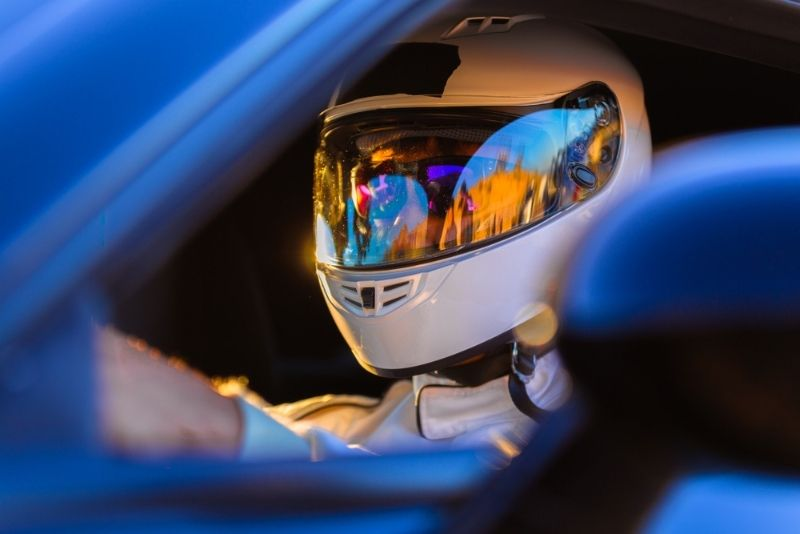 Supercar driving at Texas Motor Speedway, Dallas