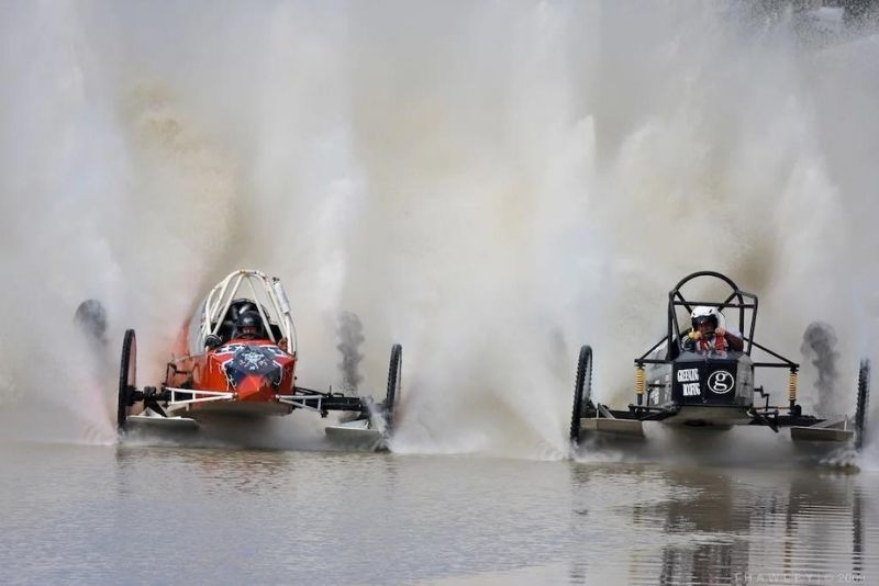 Swamp Buggy Races in Naples, Florida