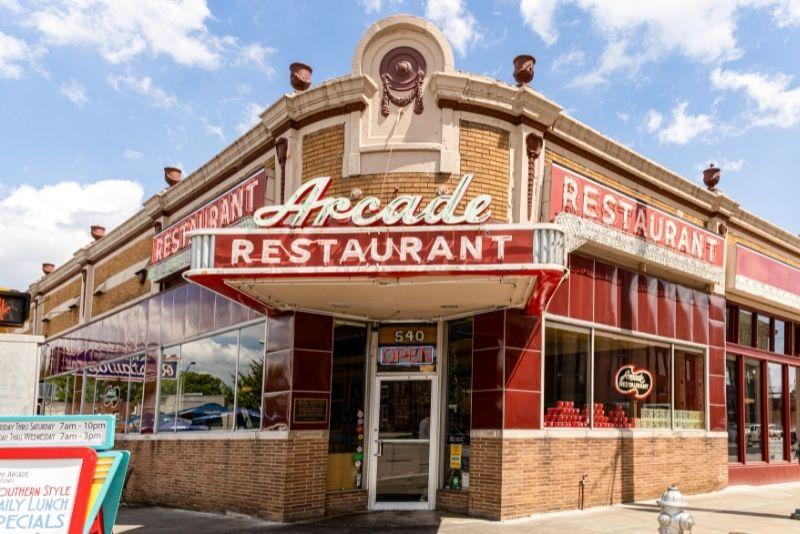 The Arcade Restaurant, Memphis