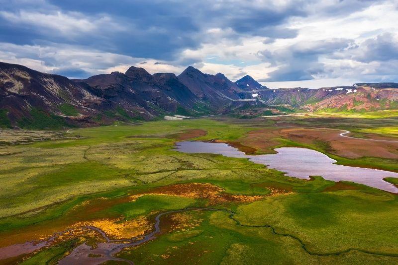 Thingvellir National Park in Golden Circle, Iceland