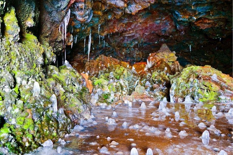 Vatnshellir-Höhle in Island