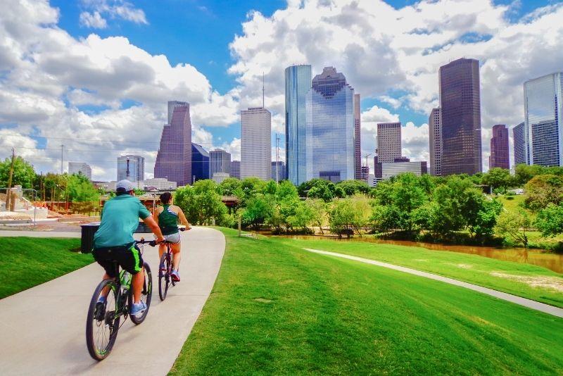 bike tours in Houston, Texas