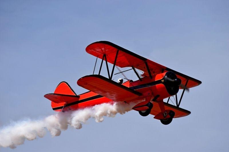 biplane tour St Augustine
