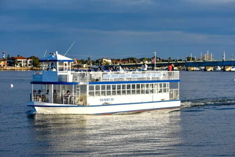 boat tours in St Augustine