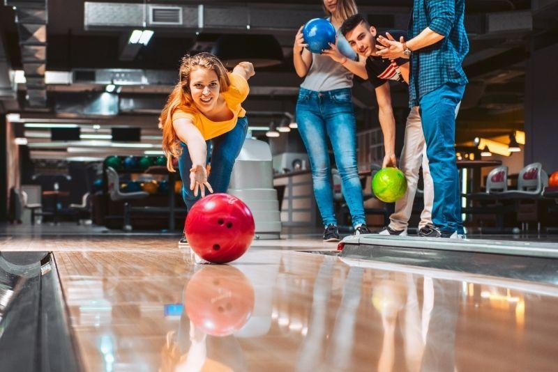 bowling in Myrtle Beach