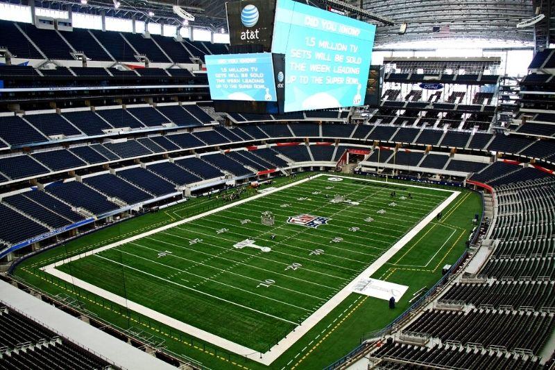 cowboys stadium in Dallas
