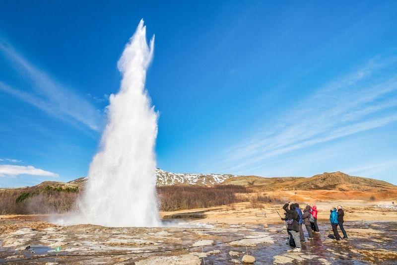 tour dei geyser in Islanda