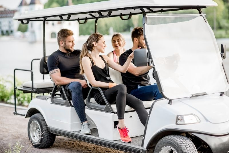 golf cart tours in St Augustine
