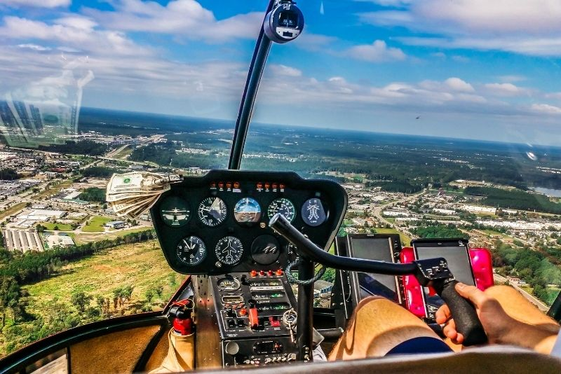 helicopter tour in Myrtle Beach