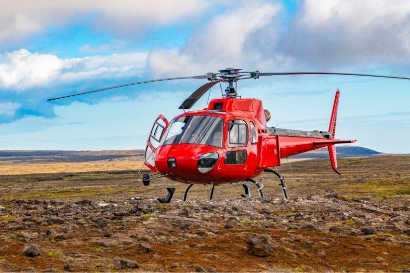 tour in elicottero, Islanda