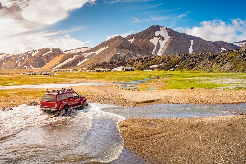 tour in jeep, Islanda
