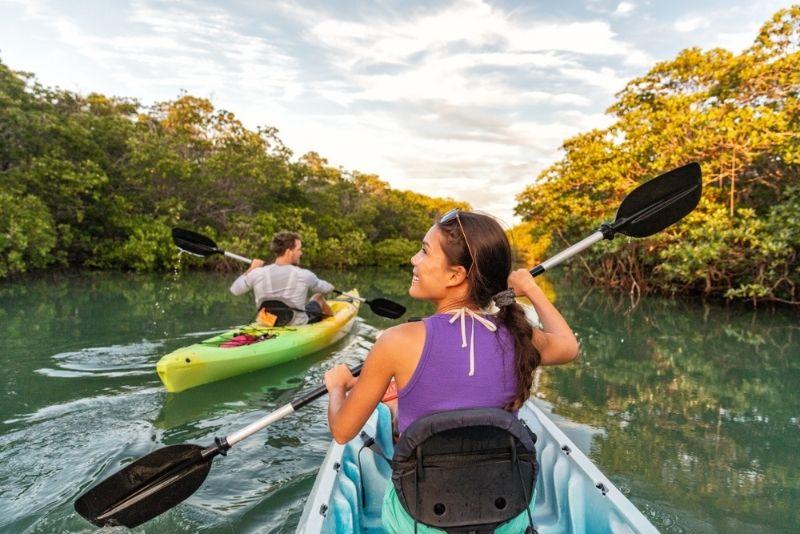 kayaking in Naples, Florida