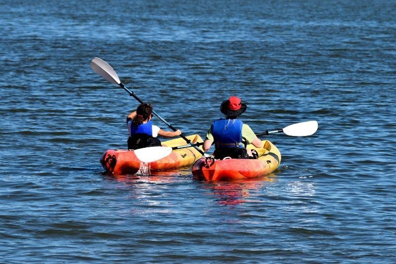 kayaking in St Augustine