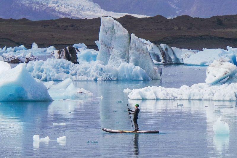 paddleboarding, Islanda