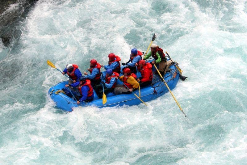 Rafting in Island