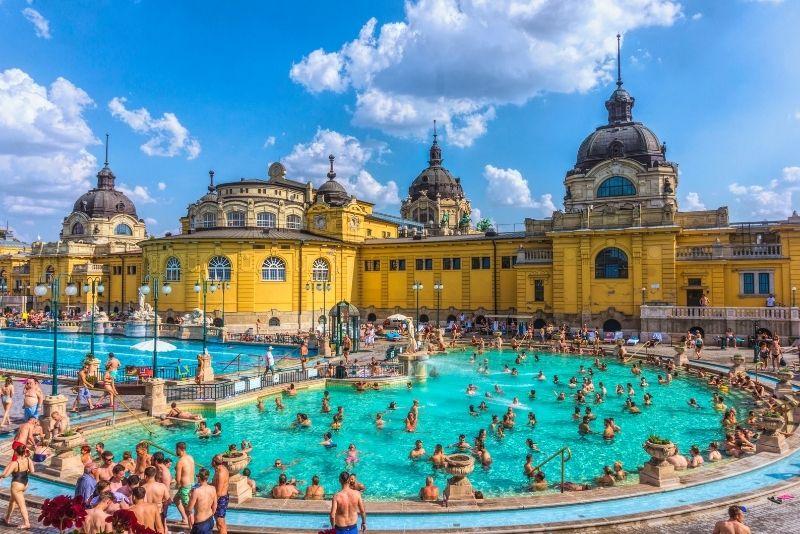 spas in Budapest