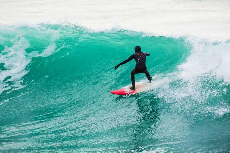 Surfen in Island