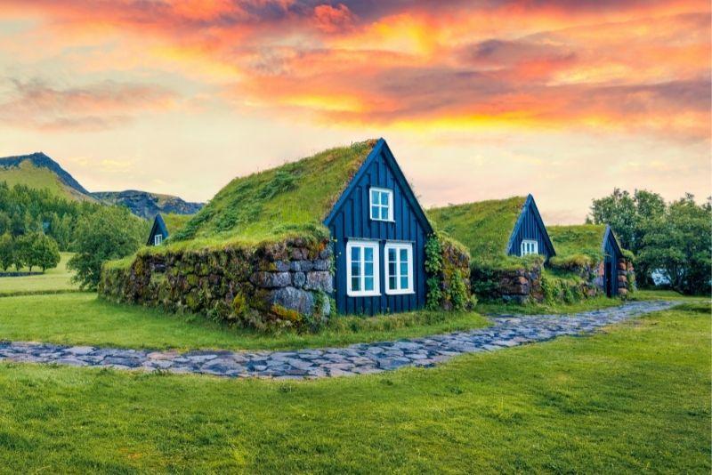 Torfhäuser, Island
