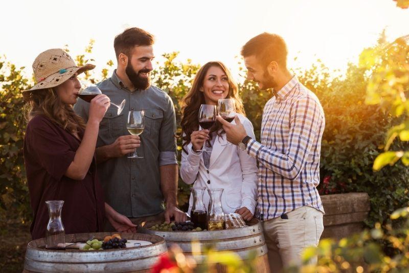 wine tours in Dallas