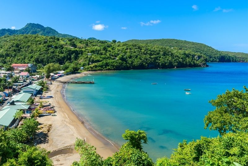 Anse la Raye Beach, St Lucia