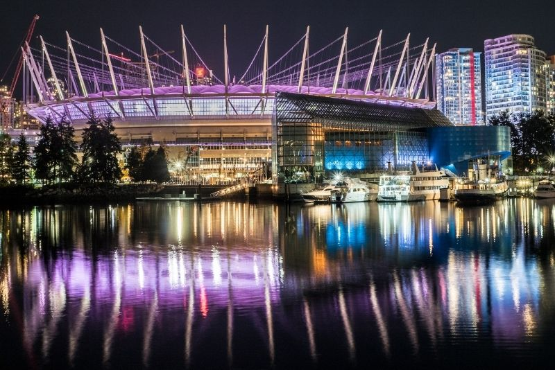 BC Place stadium, Vancouver