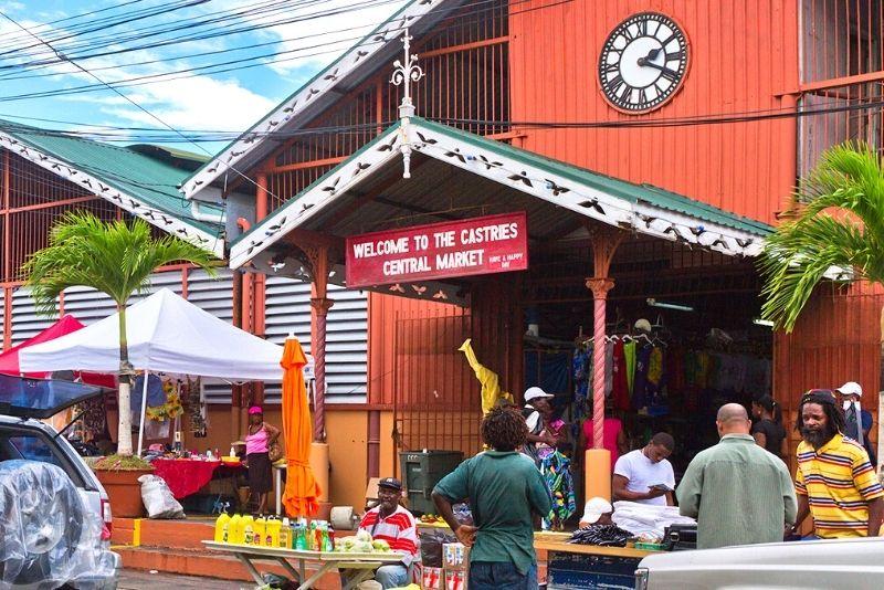Castries Market, St Lucia
