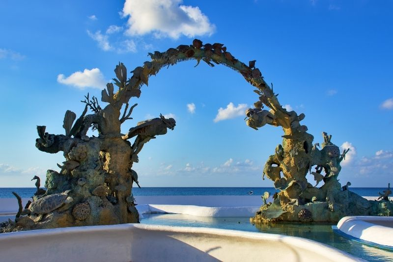 Coral Reefs Monument, Cozumel