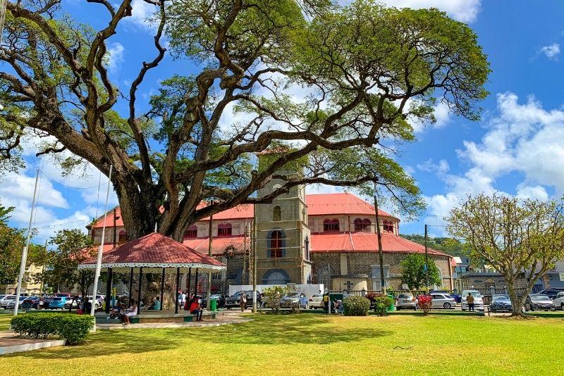 Derek Walcott Square, St Lucia