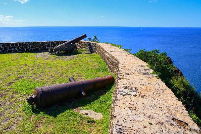 Fort Rodney, St Lucia