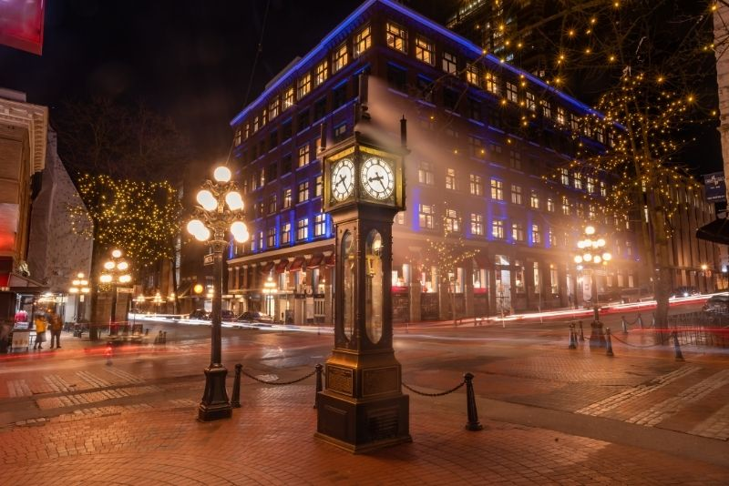 Gastown Steam Clock, Vancouver