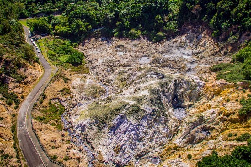 La Soufriere Drive-In Volcano, St Lucia