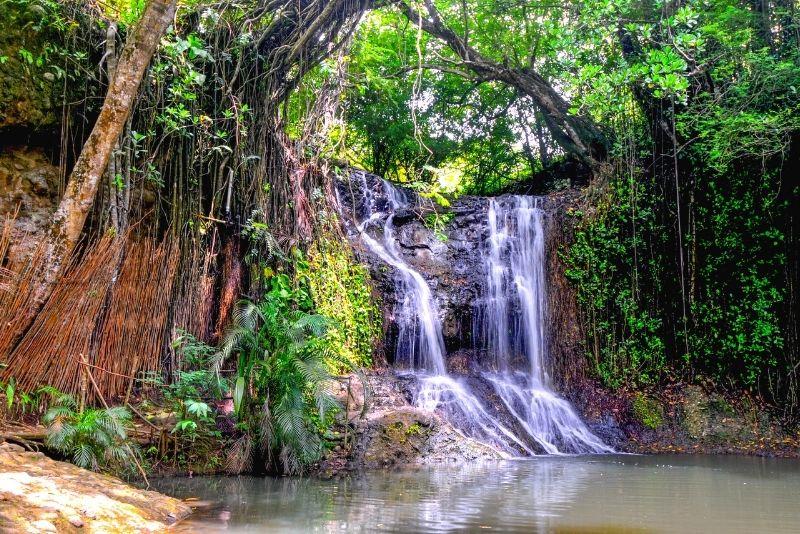 Latille Waterfalls, St Lucia