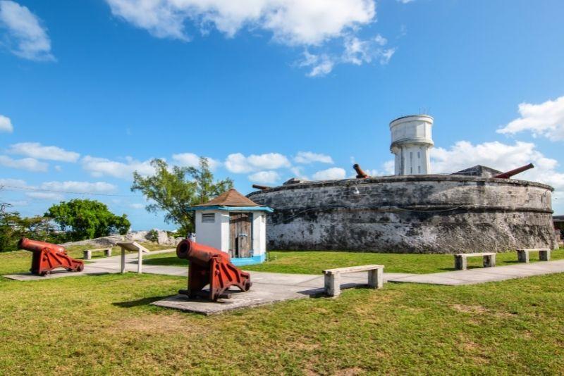 Nassau historical Forts, The Bahamas